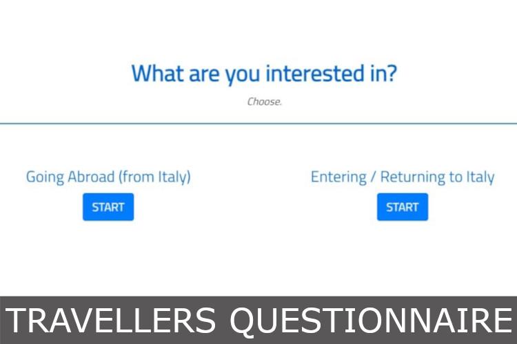 travellers questionnaire